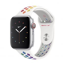 Apple – 44 mm-es Pride Edition Nike sportszíj