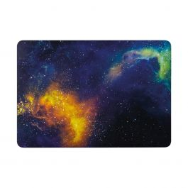 "EPICO – Shell Cover MacBook Pro 13"" kemény tok – narancs galaxis"