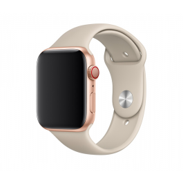 Apple – 44 mm-es, kavicsszürke sportszíj