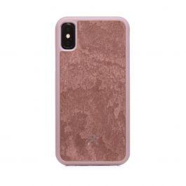 Woodcessories – Bumper iPhone X / XS tok - kanyonvörös palakő