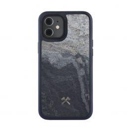 Woodcessories – Bumper Magsafe iPhone 12- és 12 Pro tok - szürke palakő