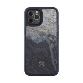 Woodcessories – Bumper Magsafe iPhone 12 Pro Max tok - szürke palakő