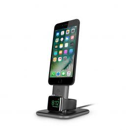 TwelveSouth – HiRise Duet iPhone és Apple Watch töltő állvány – Szürke