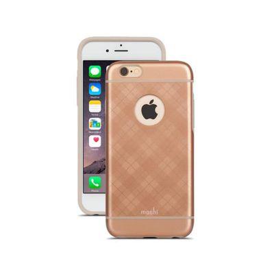 Moshi - iGlaze iPhone 6/6s tok - Tartan Rose