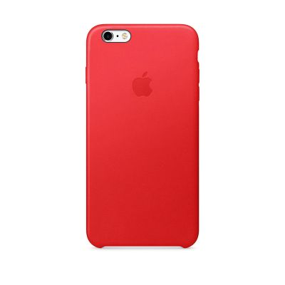 Apple - iPhone 6/6s Plus bőrtok – (PRODUCT)RED
