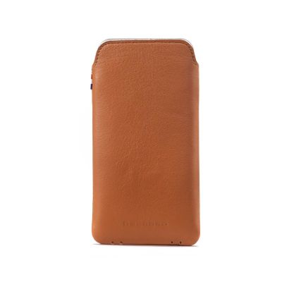 Decoded - Leather Pouch iPhone 6/6s belecsúsztatós tok - Barna