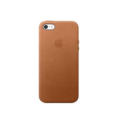 Apple - iPhone SE bőrtok - Vörösesbarna
