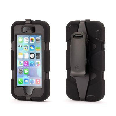 Griffin - Survivor iPhone 5/5s tok - Fekete
