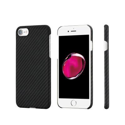 Pitaka - Aramid tok iPhone 7/8-hoz - Fekete/szürke