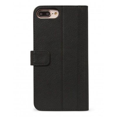Decoded 2 az 1-ben bőr Wallet Case eltávolítható hátlappal iPhone 6/6s/7 Plus-hoz - Fekete