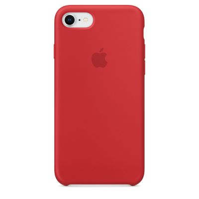 Apple - iPhone 8/7 szilikontok – (PRODUCT)RED