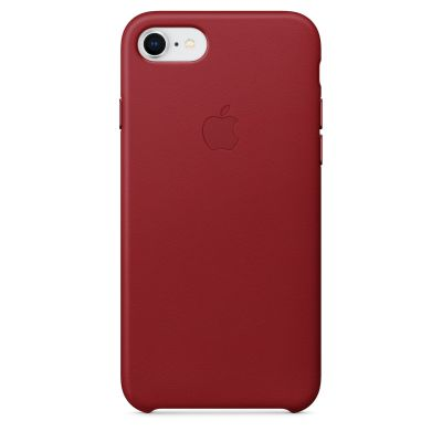 Apple - iPhone 8/7 bőrtok – (PRODUCT)RED