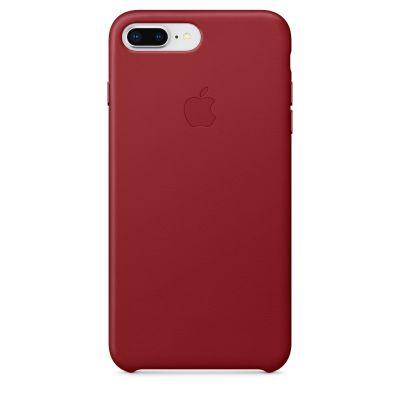 Apple - iPhone 8 Plus/7 Plus bőrtok – (PRODUCT)RED