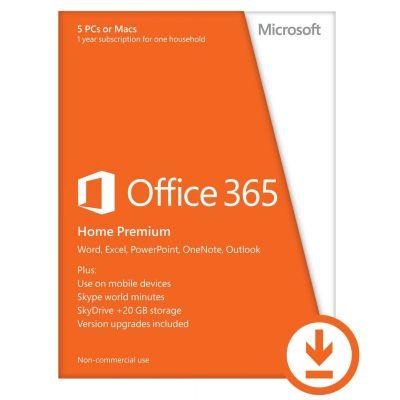 Microsoft Office 365 Home Premium - 1 éves előfizetés
