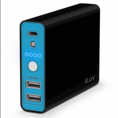 iLuv myPower 10400 - Fekete