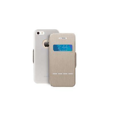 Moshi - SenseCover iPhone 5/5s tok - Titánium