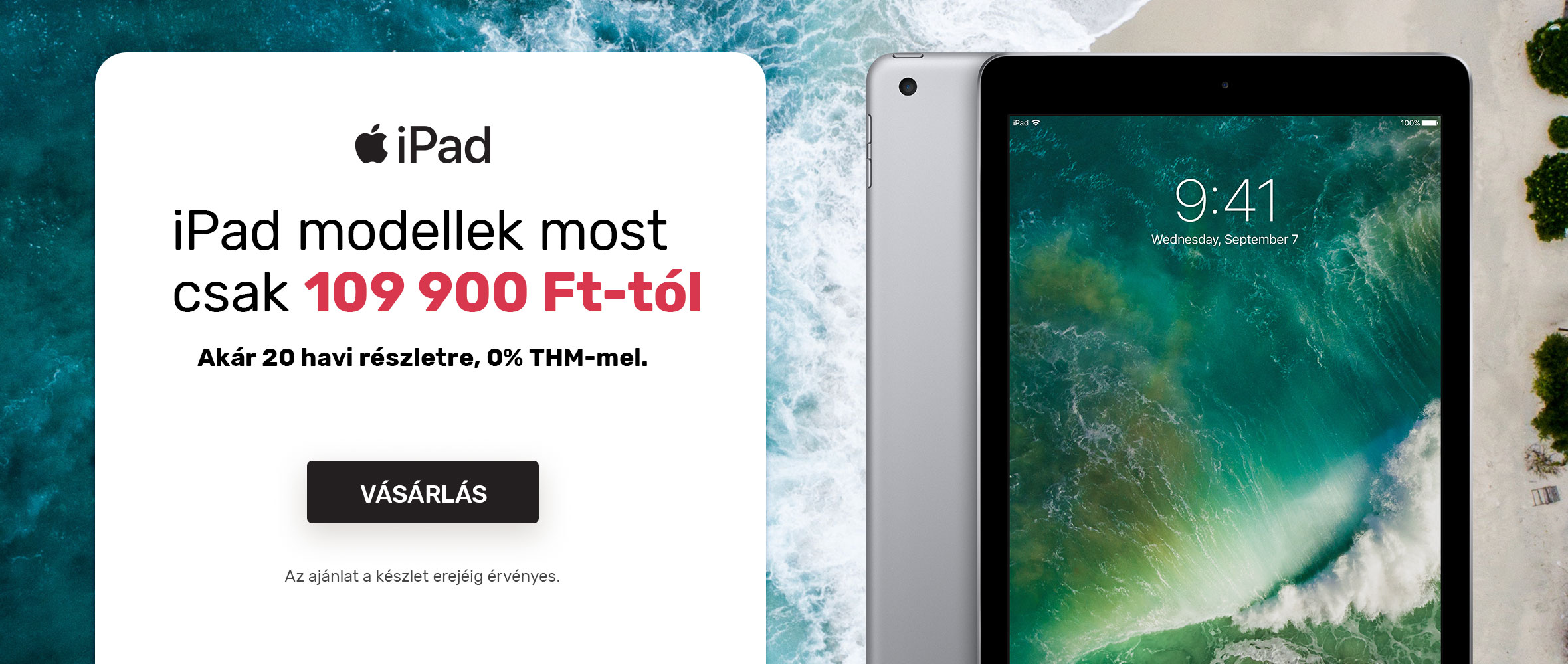 iPad - utolsó darabok