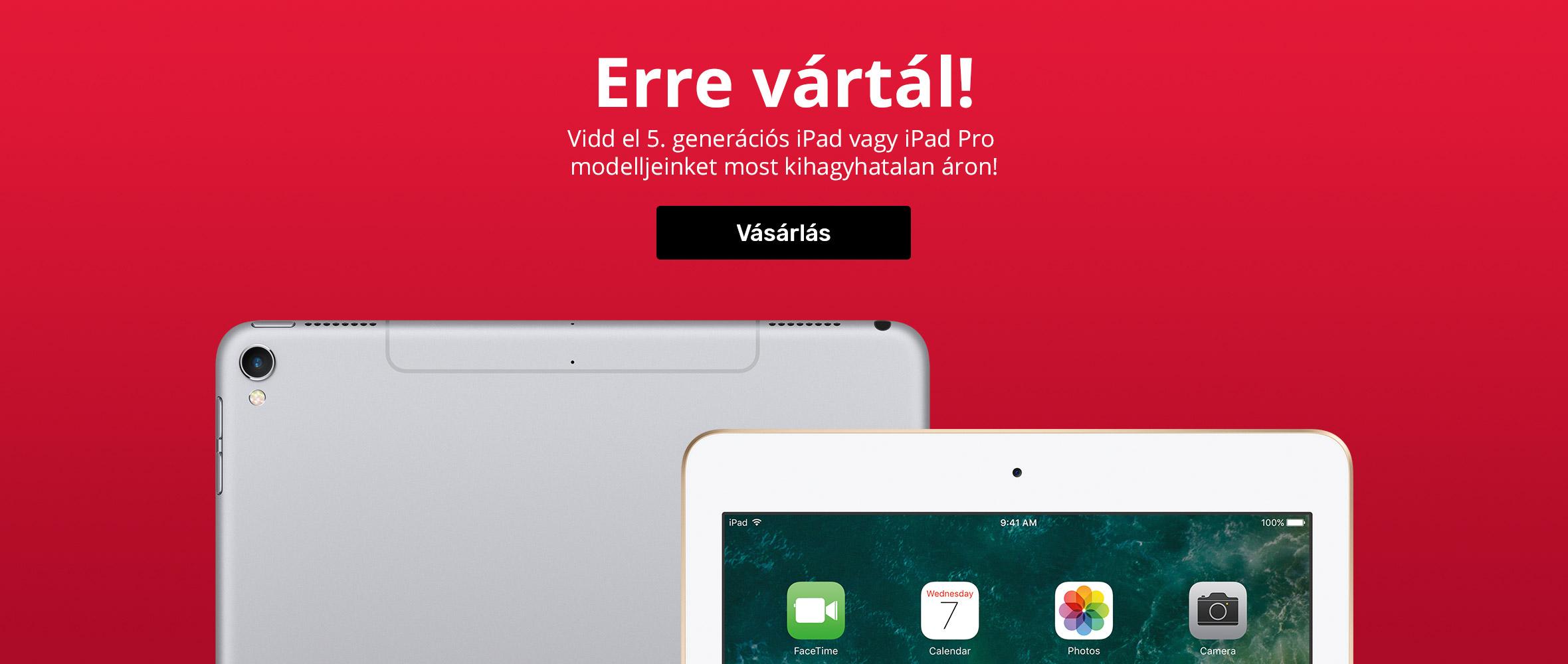 iPad - Erre vártál