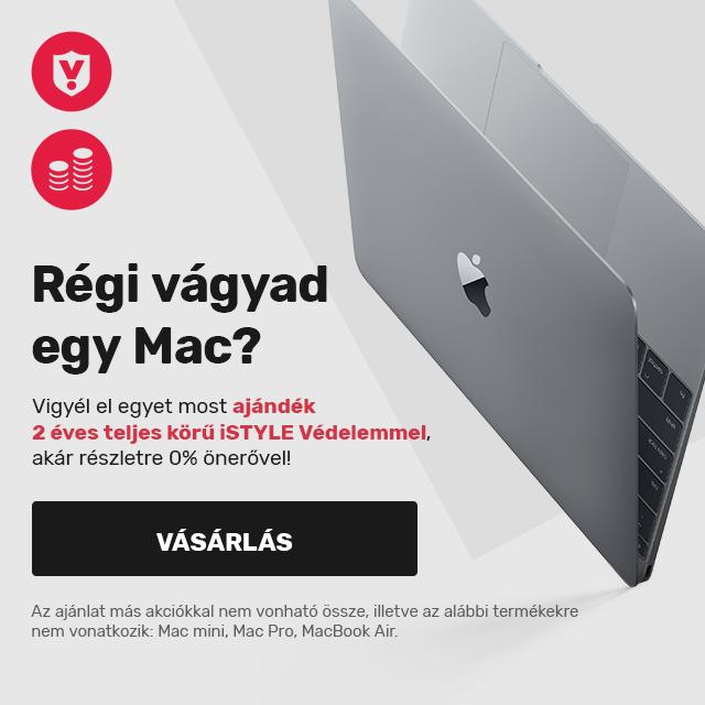Mac + teljeskoru 2 eves biztositas