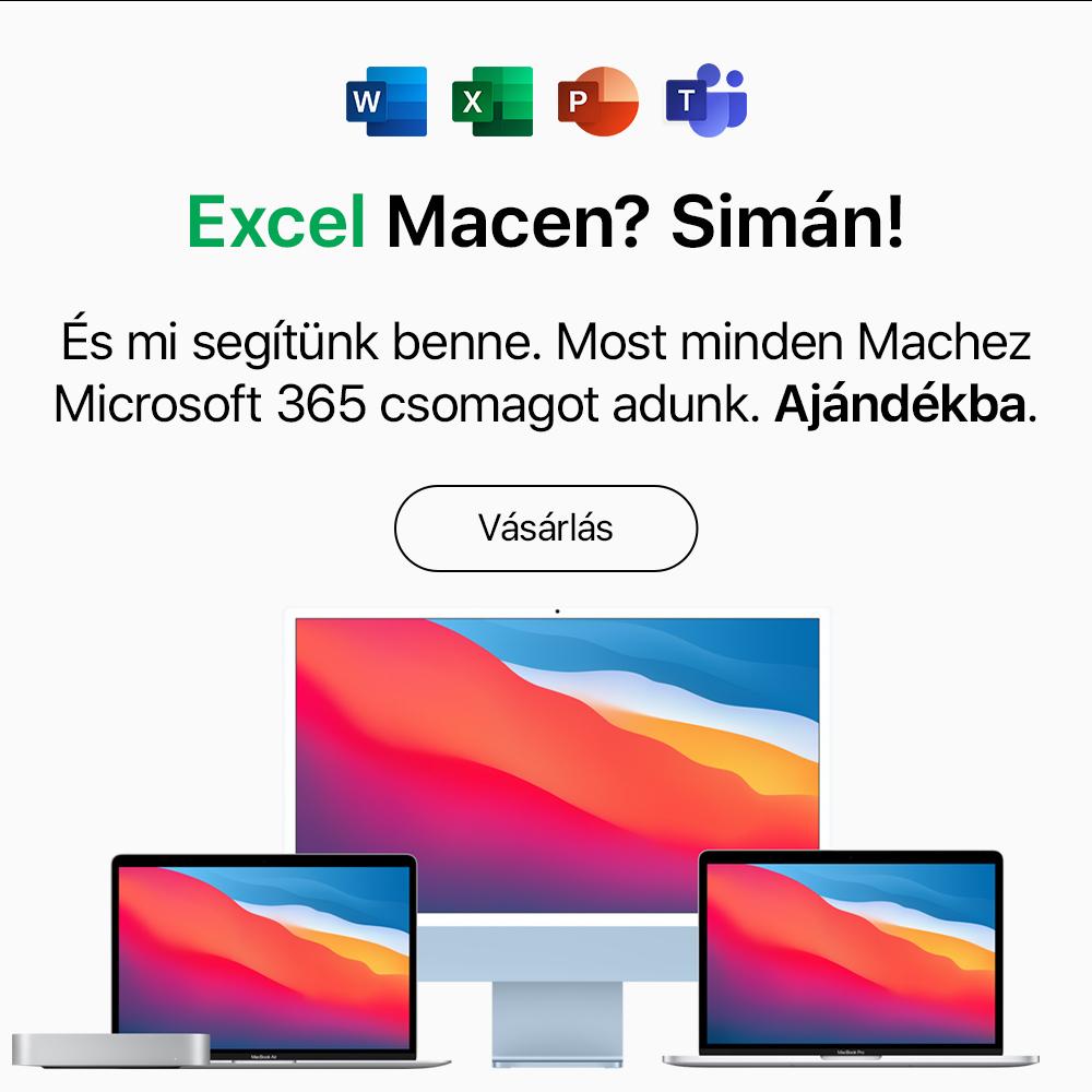 Ajándék Microsoft 365