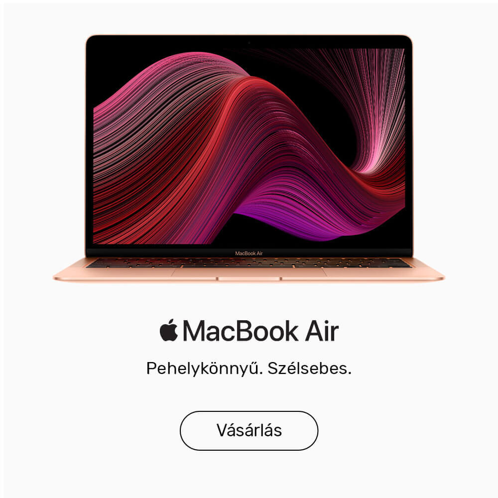 Új MacBook Air