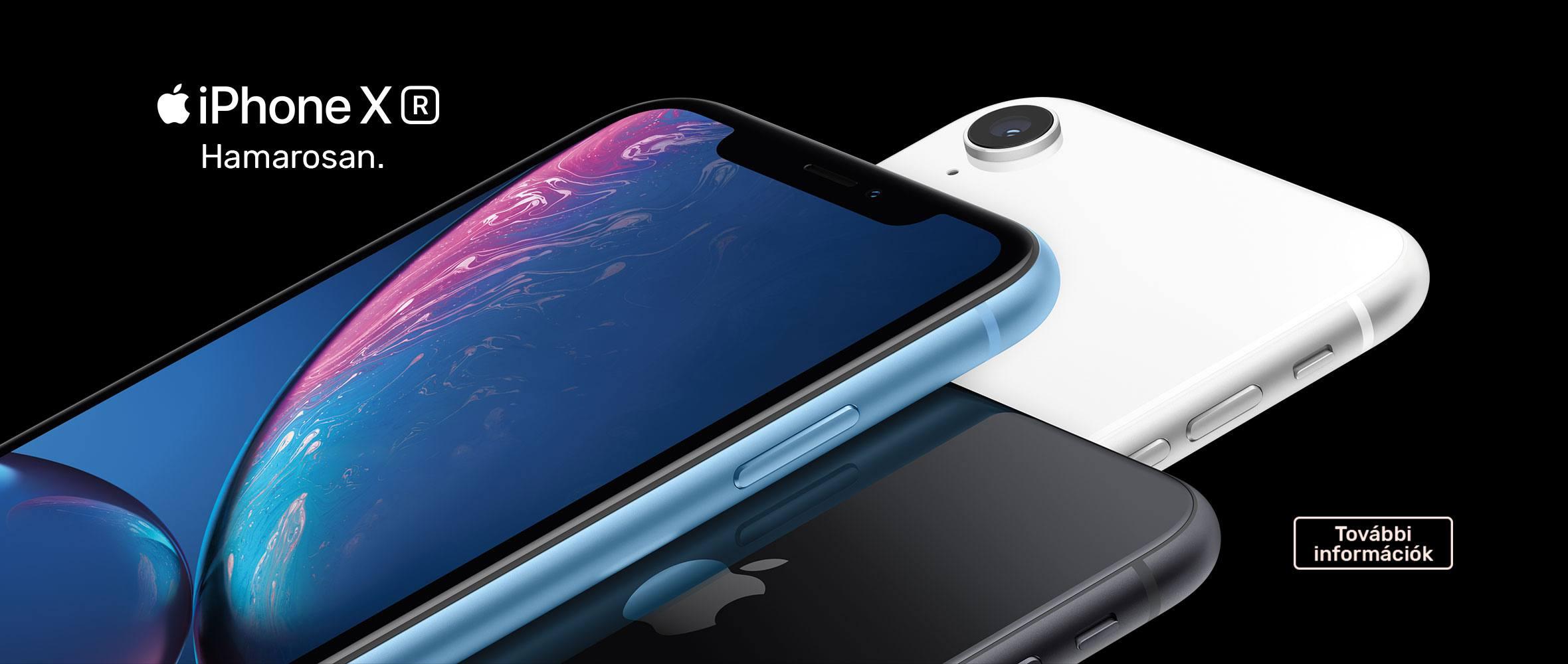 iPhone XR - Hamarosan