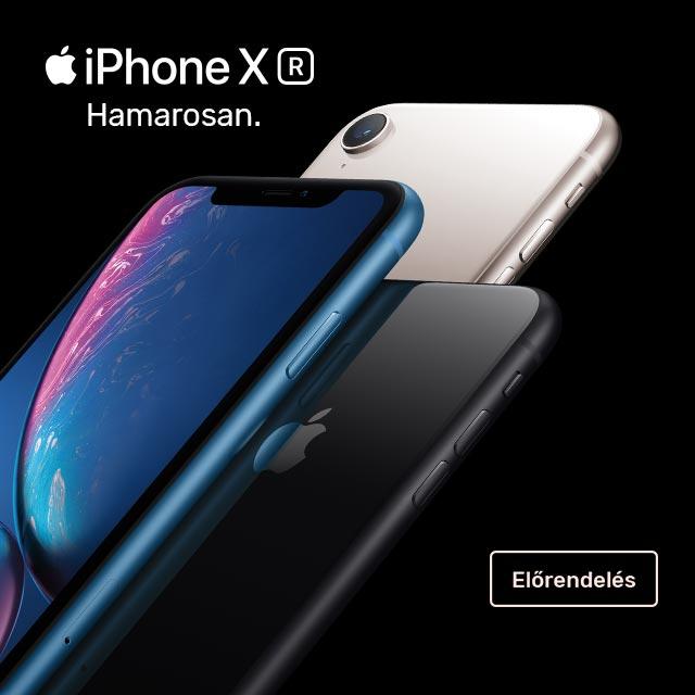 iPhone XR - Előjegyzés